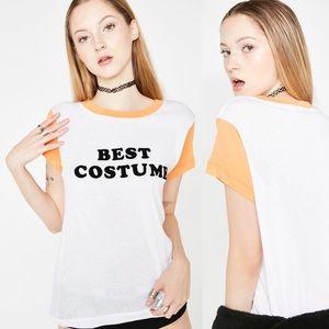 Wildfox Best Costume Raglan Halloween T-shirt